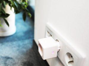 gniazdko elektryczne do pomiaru prądu